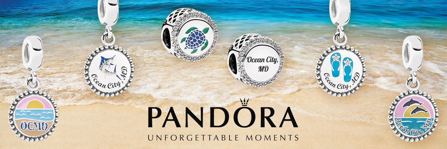 Custom Pandora Ocean City Charms